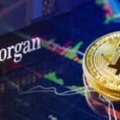 Bitcoin-Schritt von JPMorgan